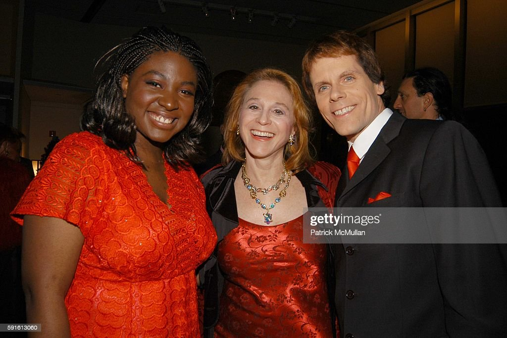 Suzanne Engo Dr Judy Kuriansky and John Norris attend New York AIDS Film Festival Red Ball Opening Gala at Paramount Screening Room MTV TRL Studios...