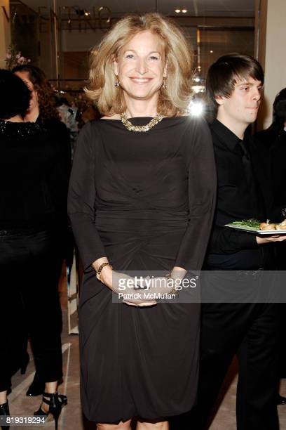 Suzanne Johnson attends SAKS FIFTH AVENUE VALENTINO Host a Dinner to benefit SAVE VENICE at Saks Fifth Avenue on April 14 2010 in New York City