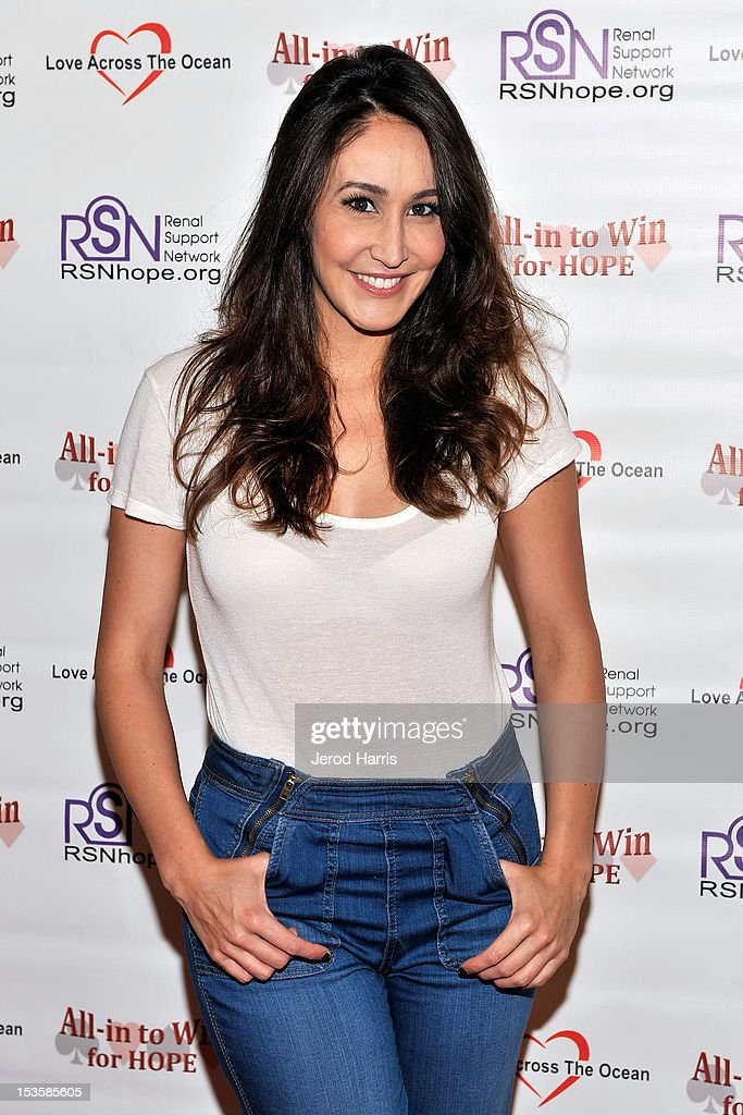 Suzanne Marques arrives at 'In To Win For Hope' No Limit Texas Hold'em Celebrity Charity Poker Tournament at Commerce Casino on October 6, 2012 in City of Commerce, California.