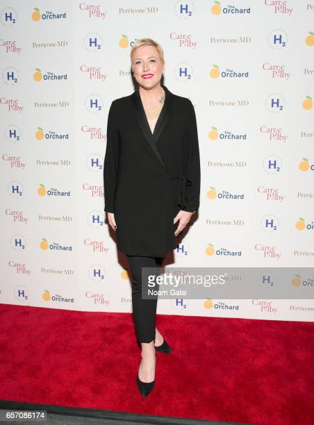 Suzanne McNeill Farwell attends the 'Carrie Pilby' New York screening at Landmark Sunshine Cinema on March 23 2017 in New York City