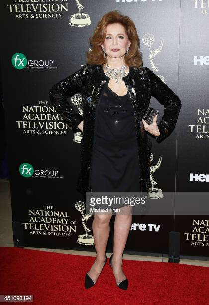Suzanne Rogers arrives at the 41st Annual Daytime Emmy Awards held at The Beverly Hilton Hotel on June 22 2014 in Beverly Hills California