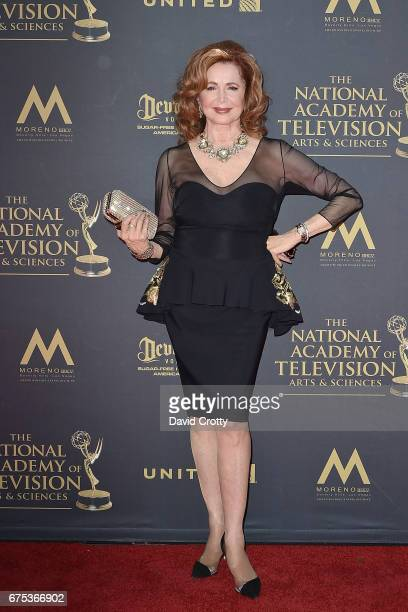 Suzanne Rogers attends the 44th Annual Daytime Emmy Awards Arrivals at Pasadena Civic Auditorium on April 30 2017 in Pasadena California