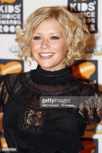 Suzanne Shaw arrives at the Nickelodeon Kids' Choice Awards 2008 at the ExCel Centre East London