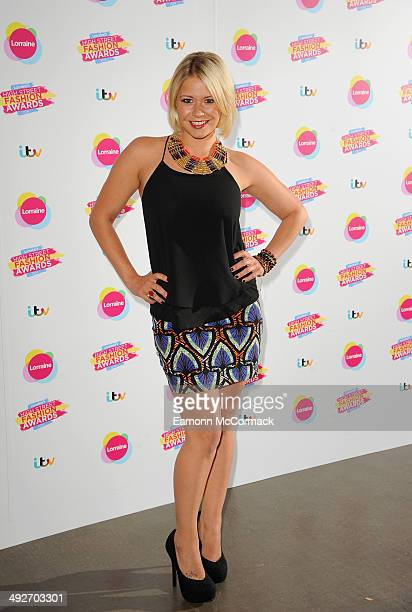Suzanne Shaw attends Lorraine's High Street Fashion Awards on May 21 2014 in London England