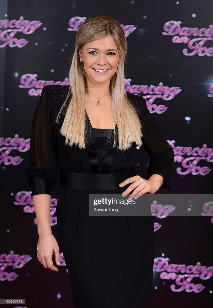 Suzanne Shaw attends the series launch photocall for 'Dancing on Ice' held at the London Studios on January 2 2014 in London England