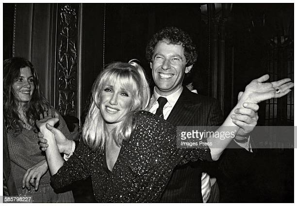 Suzanne Somers and husband Alan Hamel at Studio 54 circa 1978 in New York City