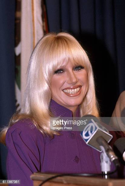 Suzanne Somers circa 1981 in Los Angeles California