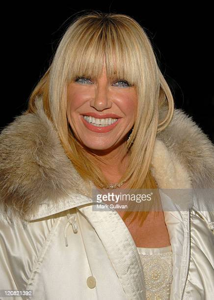 Suzanne Somers during 17th Annual Palm Springs International Film Festival Gala Awards Presentation Arrivals at Palm Springs Convention Center in...