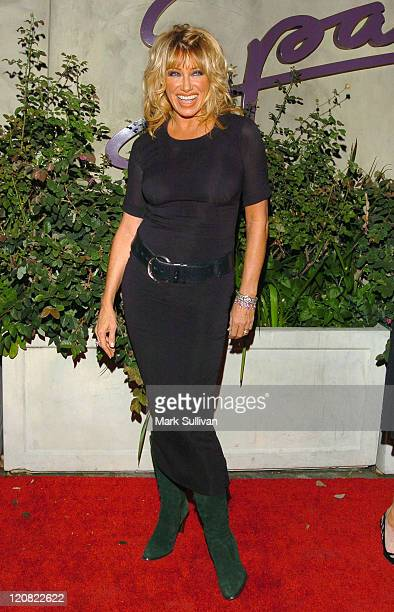 Suzanne Somers during CNN Celebrates 20 Years with Larry King Arrivals at Spago in Beverly Hills California United States