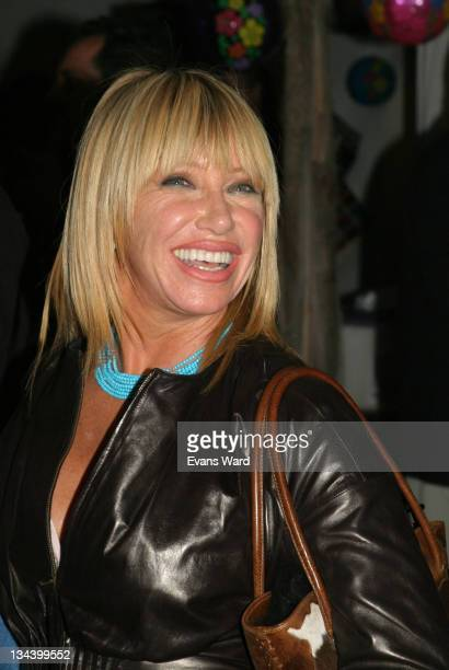 Suzanne Somers during The Santa Monica Baykeeper 11th Anniversary Beach Ball to protect the LA County coastal resources at Paradise Cove in Malibu...
