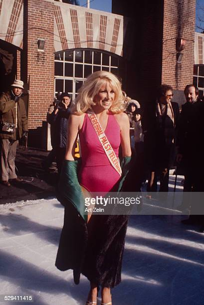 Suzanne Somers in Central Park circa 1970 New York