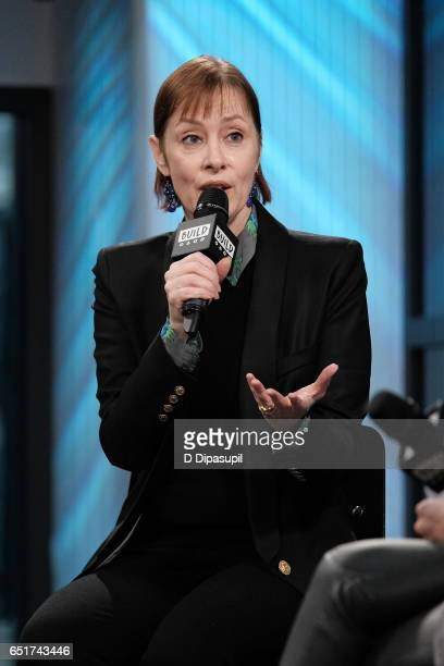 Suzanne Vega attends the Build Series to discuss 'Lover Beloved Songs from an Evening with Carson McCullers' at Build Studio on March 10 2017 in New...