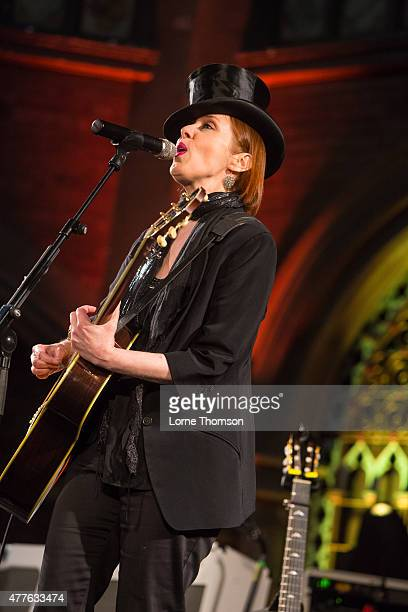 Suzanne Vega performs at the Union Chapel on June 18 2015 in London United Kingdom