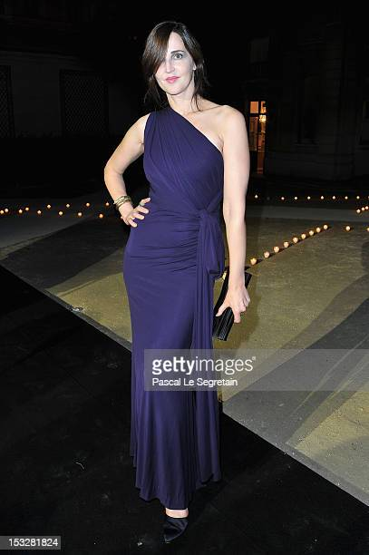Suzanne Von Aichinger attends LE BAL hosted by MAC and Carine Roitfeld as part of Paris Fashion Week Spring / Summer 2013 at Hotel Salomon de...