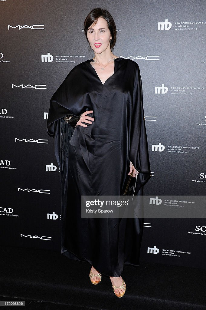 Suzanne Von Aichinger attends the Little Black Dress exhibition as part of Paris Fashion Week Haute-Couture F/W 2013-2014 on July 1, 2013 in Paris, France.