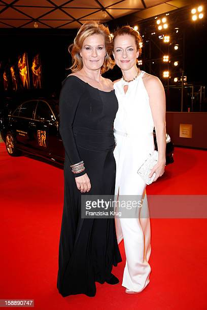 Suzanne von Borsody and Claudia Michelsen attend the 'BAMBI Awards 2012' at the Stadthalle Duesseldorf on November 22 2012 in Duesseldorf Germany