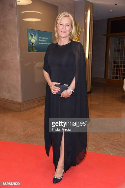 Suzanne von Borsody attends the GRK Golf Charity Masters evening gala on August 19 2017 in Leipzig Germany