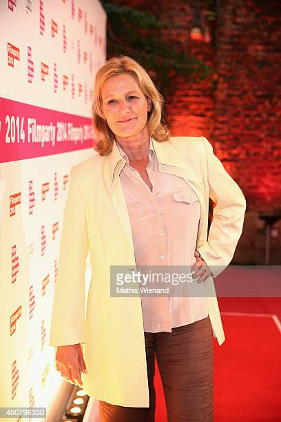 Suzanne von Borsody attends the NRW Filmparty at Wolkenburg on June 17 2014 in Cologne Germany