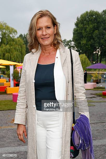 Suzanne von Borsody attends the producer party 2014 of the Alliance German Producer Cinema And Television on June 25 2014 in Berlin Germany