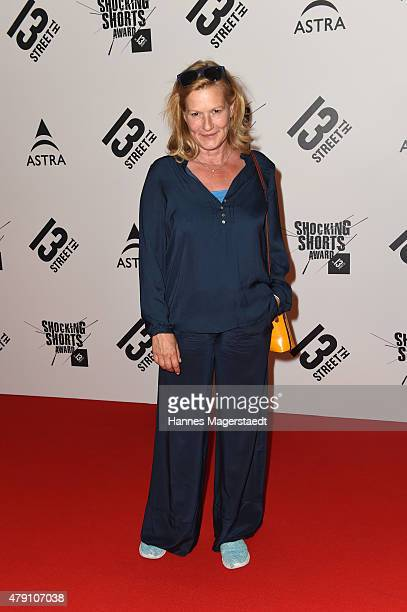Suzanne von Borsody attends the Shocking Shorts Award 2015 during the Munich Film Festival on June 30 2015 in Munich Germany