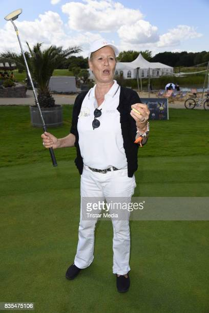 Suzanne von Borsody during the 10th GRK Golf Charity Masters on August 19 2017 in Leipzig Germany