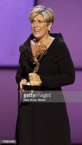 Suze Orman accepts the award for Outstanding Service Show Host for 'The Suze Orman Show'