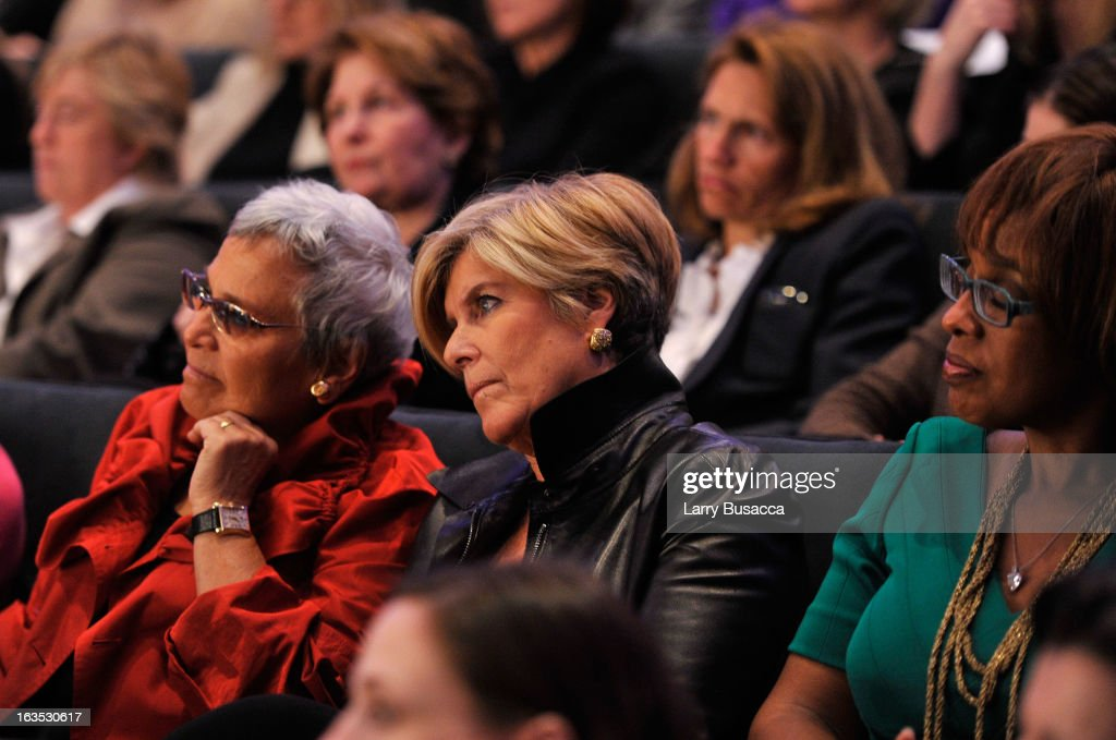 Suze Orman, and Gayle King attend Time Warner's Conversations on the Circle: A Conversation With Sheryl Sandberg, Chief Operating Officer, Facebook And Moderated By Nancy Gibbs, Deputy Managing Editor, TIME on March 11, 2013 in New York City.