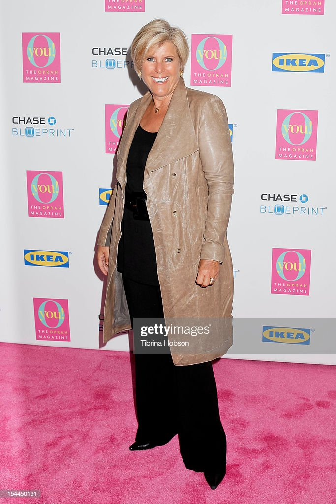 Suze Orman attends Oprah Winfrey's O You! 2012 at Los Angeles Convention Center on October 20, 2012 in Los Angeles, California.