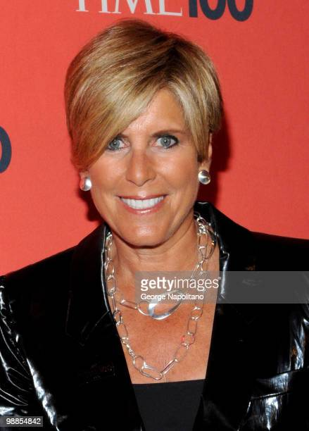 Suze Orman attends the 2010 TIME 100 Gala at the Time Warner Center on May 4 2010 in New York City