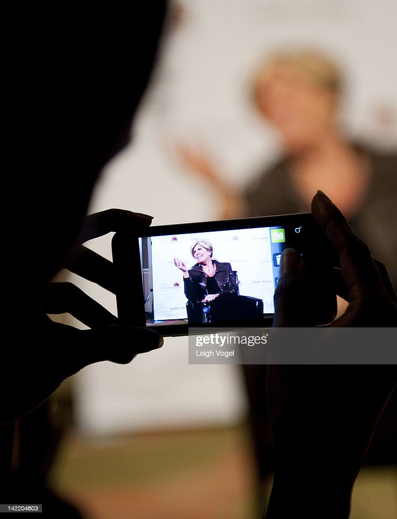 <a gi-track='captionPersonalityLinkClicked' href=/galleries/search?phrase=Suze+Orman&family=editorial&specificpeople=556123 ng-click='$event.stopPropagation()'>Suze Orman</a> attends the 4th Annual Get Radical Women's conference at the Hyatt Regency on March 31, 2012 in Reston, Virginia.