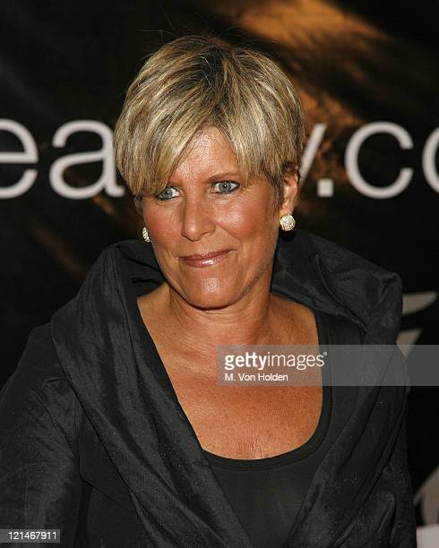 Suze Orman during 31st Annual American Women in Radio Television Gracie Allen Awards at Marriott Marquis Hotel in New York New York United States