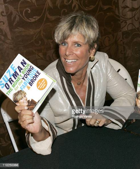 Suze Orman during Miami HipHop Summit on Financial Empowerment Presented by Chrysler Financial at Mansion in Miami Beach Florida United States