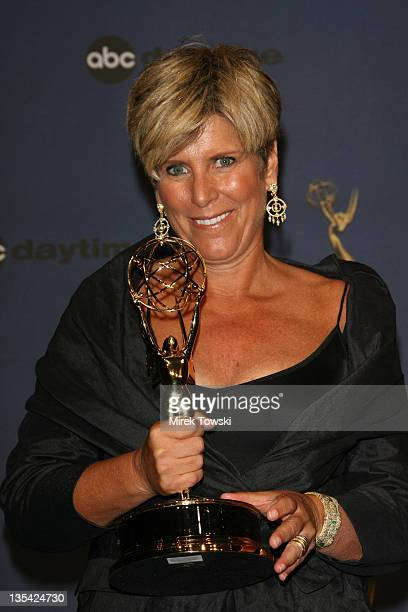 Suze Orman during The 33rd Annual Daytime Emmy Awards Press Room at Hollywood Kodak Theater in Hollywood California United States