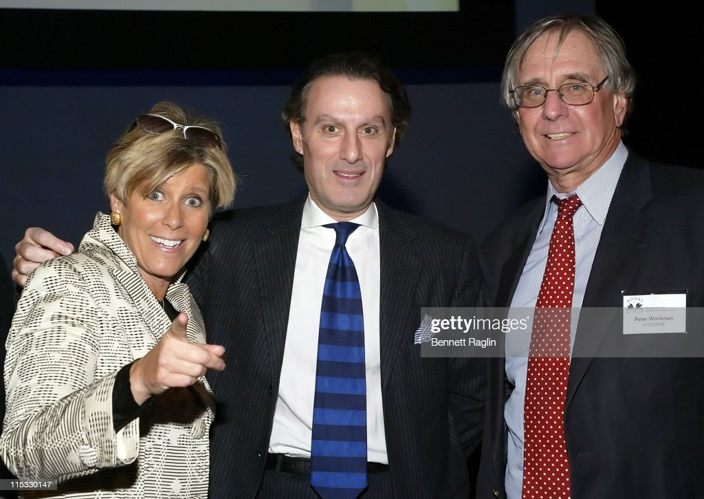 Suze Orman Steven P Murphy CEO Rodale and Peter Workman CEO of Workman Publishing Inc
