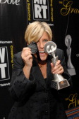Suze Orman winner of Outstanding Talk Show during 32nd Annual American Women in Radio Television Gracie Allen Awards Inside at Marriott Marquis in...