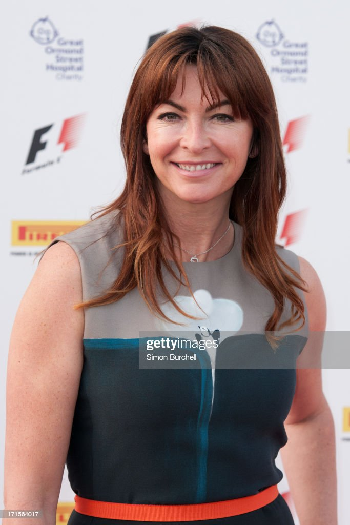 Suzi Perry attends The F1 Party at Old Billingsgate Market on June 26, 2013 in London, England.