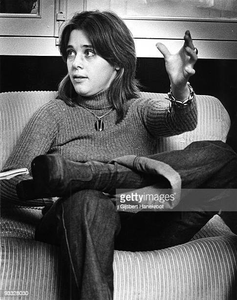 Suzi Quatro posed in Amsterdam Netherlands in 1972