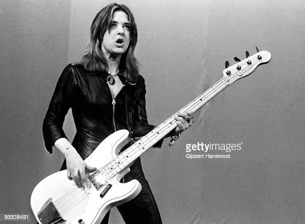 Suzi Quatro posed in Amsterdam Netherlands in 1973