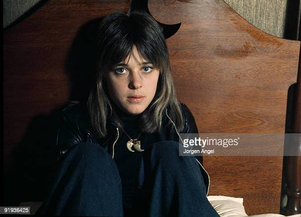 Suzi Quatro poses in October 1974 in Copenhagen Denmark
