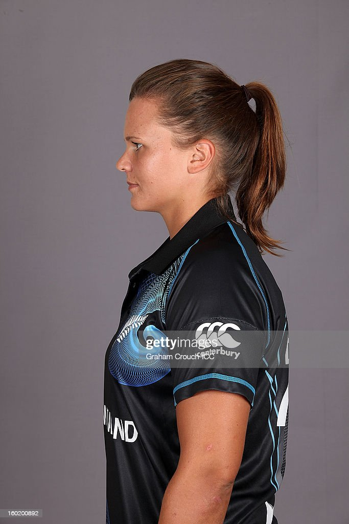 Suzie Bates, Captain of New Zealand poses at a portrait session ahead of the ICC Womens World Cup 2013 at the Taj Mahal Palace Hotel on January 27, 2013 in Mumbai, India.