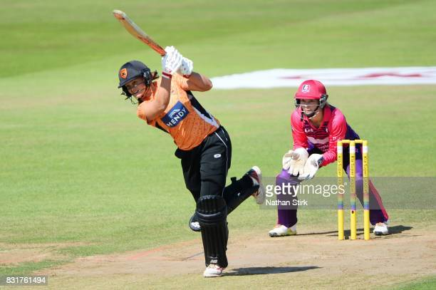 Suzie Bates of Southern Vipers batting during the Kia Super League 2017 match between Loughborough Lightning and Southern Vipers at The 3aaa County...