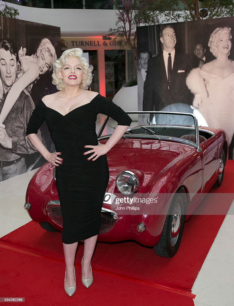 Suzie Kennedy attends the Marilyn Monroe: Legacy of a Legend launch party at Design Centre, Chelsea Harbour>> at Design Centre on May 25, 2016 in London, England.