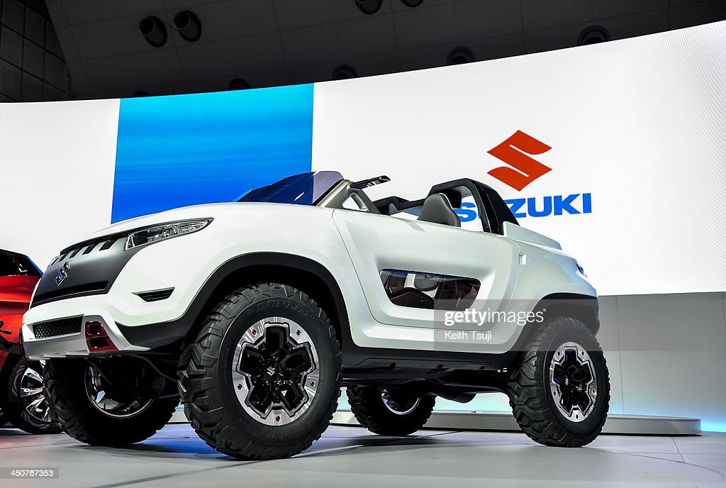 Suzuki Motor Corp. X-Lander concept vehicle is on display during the 43rd Tokyo Motor Show 2013 at Tokyo Big Sight on November 20, 2013 in Tokyo, Japan. The 43rd Tokyo Motor Show 2013 will be open to public from November 22nd to December 1st, 2013.