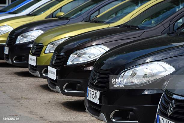 Suzuki SX4 S-Cross in a row