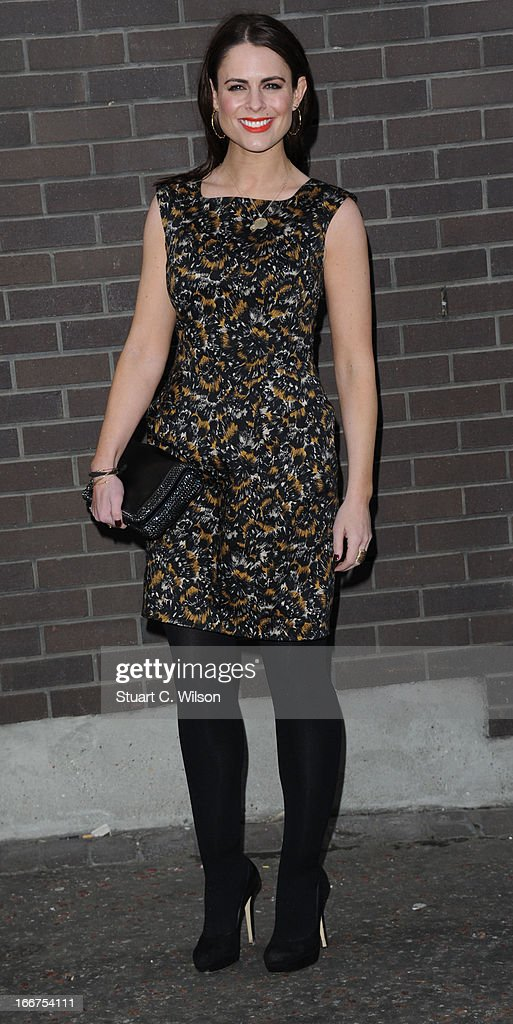 Suzy Amy attends as Chickenshed perform a caberet showcase at The London Television Centre on April 16, 2013 in London, England.