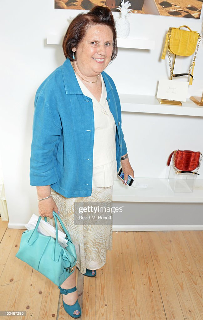 Suzy Menkes attends the Okapi London launch and summer party on June 12 2014 in London England