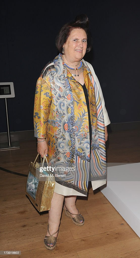 <a gi-track='captionPersonalityLinkClicked' href=/galleries/search?phrase=Suzy+Menkes&family=editorial&specificpeople=816435 ng-click='$event.stopPropagation()'>Suzy Menkes</a> attends the private view of 'The <a gi-track='captionPersonalityLinkClicked' href=/galleries/search?phrase=Suzy+Menkes&family=editorial&specificpeople=816435 ng-click='$event.stopPropagation()'>Suzy Menkes</a> Collection: In My Fashion' at Christie's on July 11, 2013 in London, England.