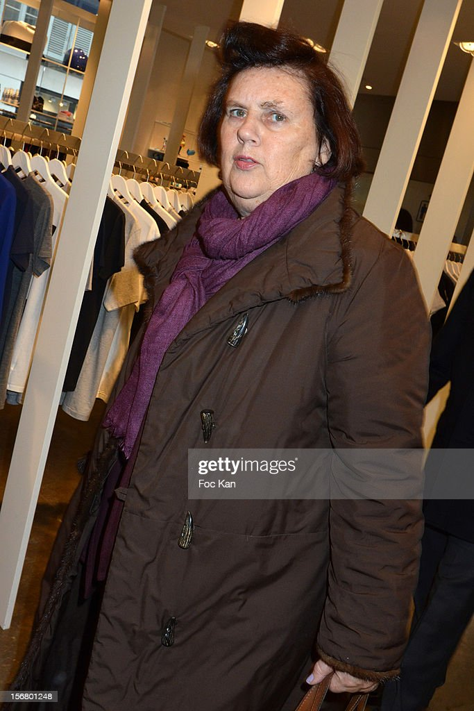 Suzy Menkes is seen at Colette on November 21, 2012 in Paris, France.
