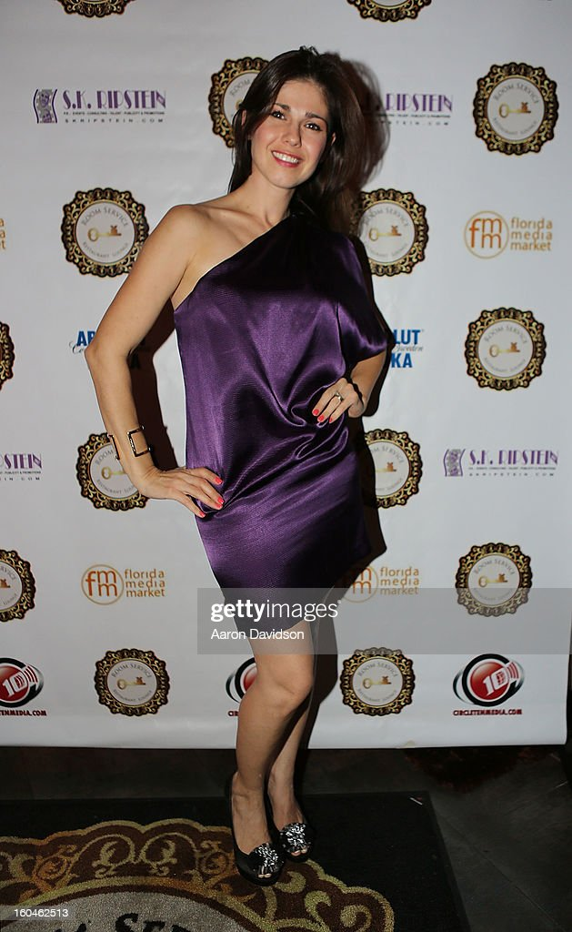 Suzy Rosado attends The Florida Media Market 2013 Event at Room Service on January 31, 2013 in Miami Beach, Florida.