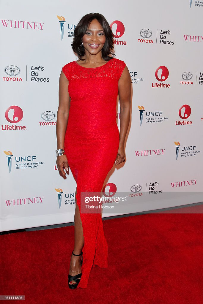 Suzzanne Douglas attends the world premiere of Lifetime's 'Whitney' at The Paley Center for Media on January 6, 2015 in Beverly Hills, California.